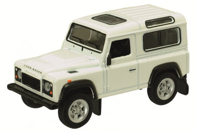 Schuco 1/64 Land Rover Defender, white #452013400