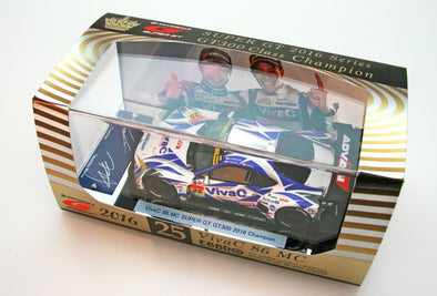 Ebbro 1/43 VivaC 86 MC SUPER GT GT300 2016 Champion Car No.25  #45379