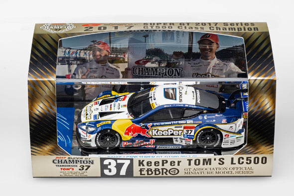 Ebbro 1/43 KeePer TOM'S LC500 SUPER GT GT500 2017 Champion Car No.37  #45550
