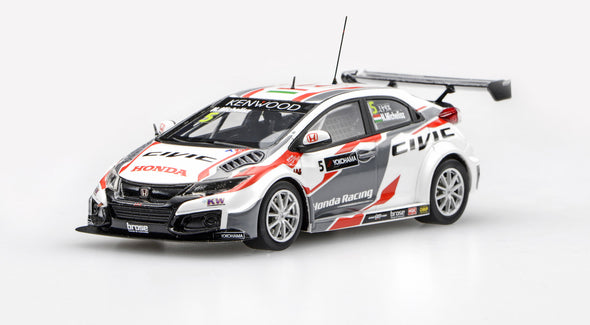 Ebbro 1/43 Honda Civic WTCC 2016 No.5 - N.Michelisz  #45569