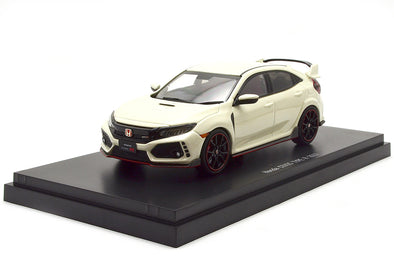 Ebbro 1/43 Honda CIVIC Type R 2017 Champion White #45572
