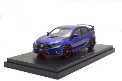 Ebbro 1/43 Honda CIVIC TYPE R 2017 (Brilliant Sporty Blue Metallic) #45575
