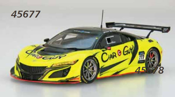 Ebbro 1/43 CARGUY Racing NSX GT3 No.777 SUZUKA 10 HOURS 2018 #45677