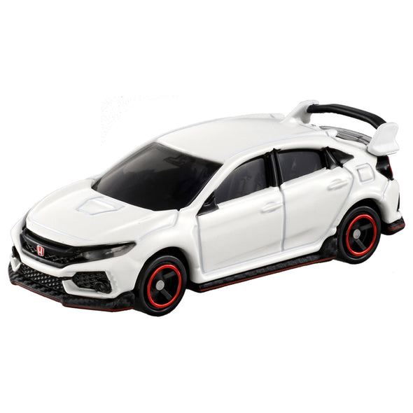 Tomica No.58 Honda Civic Type-R White (FK8)