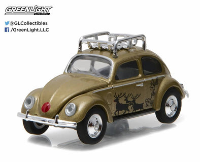 GreenLight 1/64 GreenLight 2016 Holiday Collection - Volkswagen Beetle (Gold) #51077-C
