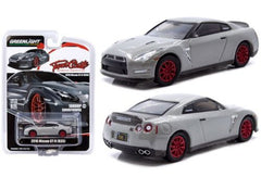 *Limit to TWO per person / Address* Tuner Crate x Greenlight 1/64 2016 Nissan GTR R-35 1000hp Smurfinwrx, grey