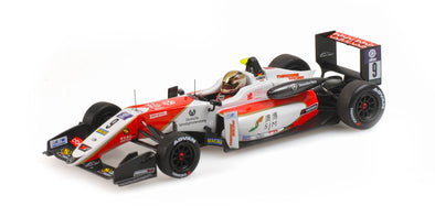 Minichamps 1/43 DALLARA MERCEDES F317 – PREMA THEODORE RACING – MICK SCHUMACHER – MACAU GP 2018