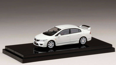 Hobby Japan 1/64 Honda  CIVIC TYPE R (FD2) Championship White - HJ641003AW