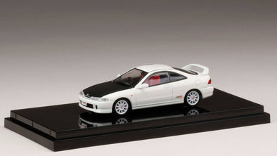 Hobby Japan 1/64 Honda  Integra Type R (DC2) Customized Ver. Championship White (HONG KONG Limited Edition ) - HJ641004BCW