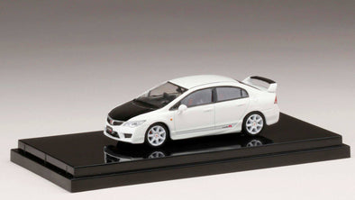 Hobby Japan 1/64 Honda  CIVIC TYPE R (FD2) Championship White Customized Ver. (HONG KONG Limited Edition) - HJ641003ACW