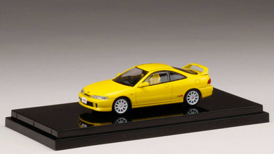 Hobby Japan 1/64  Honda Integra Type R (DC2) Sunlight Yellow - HJ641004BY