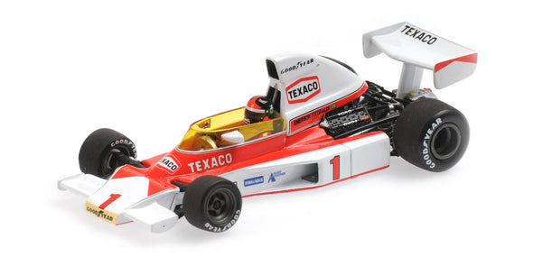 Minichamps 1/43 MCLAREN FORD M23 – EMERSON FITTIPALDI –1975 – WITH ENGINE - 530754301