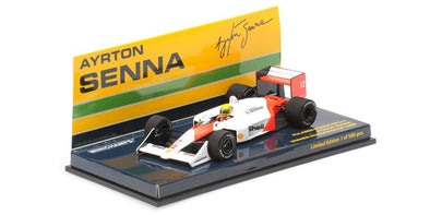 Minichamps 1/43 MCLAREN HONDA MP4/4 – AYRTON SENNA – WINNER HUNGARIAN GP 1988 - 547884312