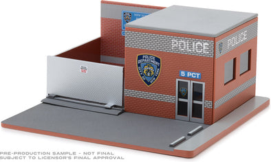 GreenLight 1/64 Mechanic's Corner Series 4 - New York City Police Department (NYPD) Solid Pack - #57042