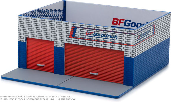 GreenLight 1/64 Mechanic's Corner Series 4 - Weekend Workshop BFGoodrich Solid Pack - #57043