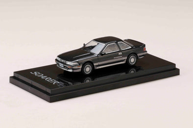 Hobby Japan 1/64 Toyota Soarer 2.0GT-TWIN TURBO L 1988 Dandy black -  HJ641001BDB