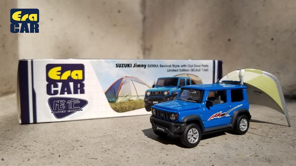 ERA CAR 1/64 SUZUKI JIMNY SIERRA Revival Style with Outdoor Parts (Limited Edition)