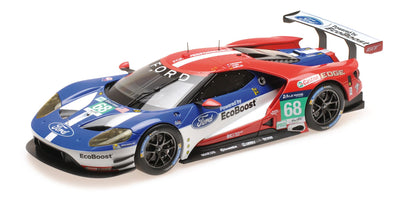 Minichamps 1/18 FORD GT – CHIP GANASSI RACING USA – HAND/MÜLLER/BOURDAIS – WINNERS LMGTE PRO 24H LE MANS 2016 - 155168668