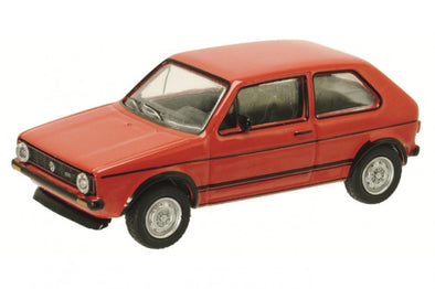 Schuco 1/64 VW Golf GTI, red #452013100