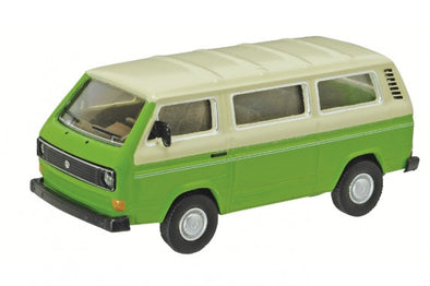 Schuco 1/64 VW T3 Bus, green #452013900