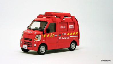 ERA CAR 03 1/64 Suzuki Every HK Mini Fire Van (1st Special Edition)
