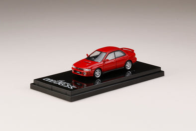 Hobby Japan 1/64 1/64 Subaru Impreza WRX (GC8) Active Red - HJ641013R