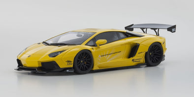 KYOSHO 1/18 LB☆WORKS Aventador Yellow - KSR18502Y
