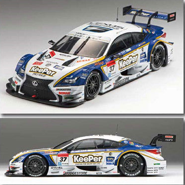 EBBRO 1/18 KeePer TOM'S RC F SUPER GT500 2015 Rd.1 Okayama Winner No.37 #81027