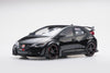Ebbro 1/18 Honda CIVIC TYPE R 2015 (UK License Plate) - Crystal Black Pearl #81062