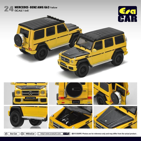 ERA CAR 24 1/64 Mercedes-Benz AMG Mercedes-Benz G63 Yellow