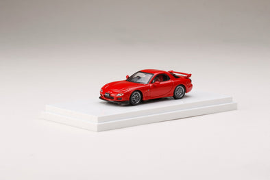Hobby Japan 1/64 MAZDA RX-7 FD3S SPIRIT R TYPE A Red - HJ641007AR