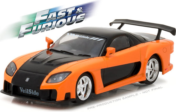 Greenlight 1/43 Fast & Furious - The Fast and the Furious: Tokyo Drift (2006) - 1997 Mazda RX-7  #86212