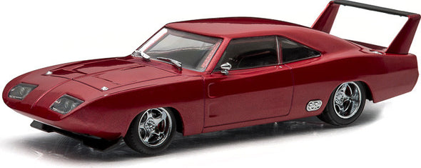 GreenLight 1/43 Fast & Furious - The Fast and the Furious Six (2013) - 1969 Dodge Charger Daytona - Maroon #86221