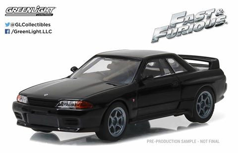 GreenLight 1/43 Fast & Furious - Fast 7 (2014) - 1989 Nissan Skyline #86229