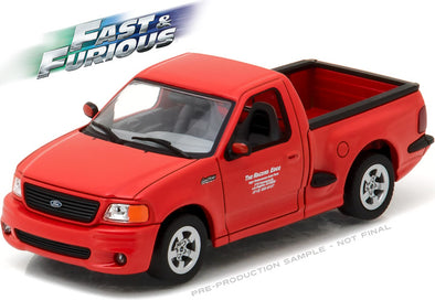 Greenlight 1/43 Fast & Furious - The Fast and the Furious (2001) - 1999 Ford F-150 SVT Lightning #86235