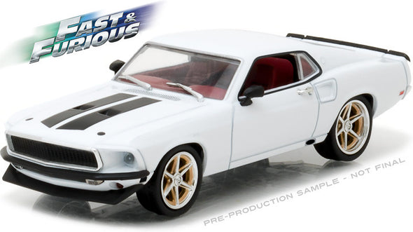 "Greenlight 1/43 Fast & Furious - Fast & Furious 6 (2013) - 1969 Ford Mustang Custom ""Anvil Halo"" #86236"