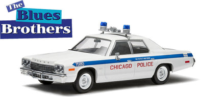 GreenLight 1/43 1975 Dodge Monaco Chicago Police - Blues Brothers (1980) - Hollywood Series 2 - #86422
