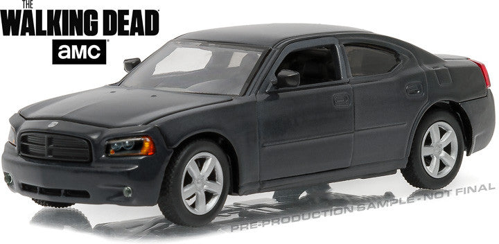 GreenLight 1/43 The Walking Dead (2010-Current TV Series) - Daryl Dixon's 2006 Dodge Charger Police #86505