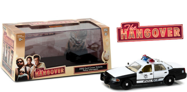GreenLight 1/43 The Hangover (2009) - 2000 Ford Crown Victoria Police Interceptor #86506