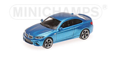 Minichamps 1/87 BMW M2 - 2016 - BLUE METALLIC #870027000