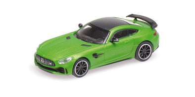 Minichamps 1/87 MERCEDES-AMG GT-R - 2017 - GREEN METALLIC - 870037220