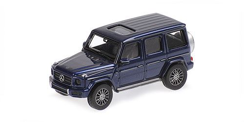 Minichamps 1/87 MERCEDES-BENZ G-KLASSE W 463 – 2018 – BLUE