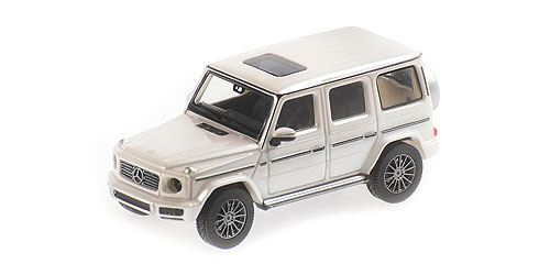 Minichamps 1/87 MERCEDES-BENZ G-KLASSE W 463 – 2018 – DESIGNO DIAMANTWEISS BRIGHT