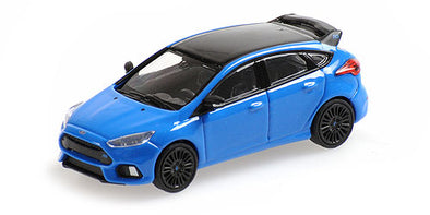 Minichamps 1/87 FORD FOCUS RS – 2018 – BLUE W/ BLACK ROOF - 870087200
