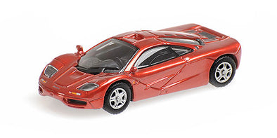 Minichamps 1/87 MCLAREN F1 ROADCAR – RED - 870133820