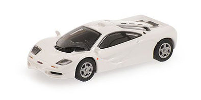 Minichamps 1/87 MCLAREN F1 ROADCAR – WHITE - 870133822