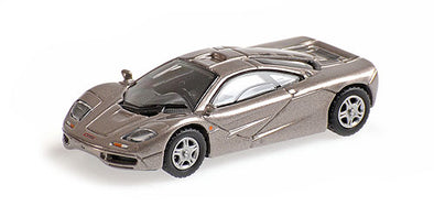 Minichamps 1/87 MCLAREN F1 ROADCAR – GREY METALLIC - 870133824