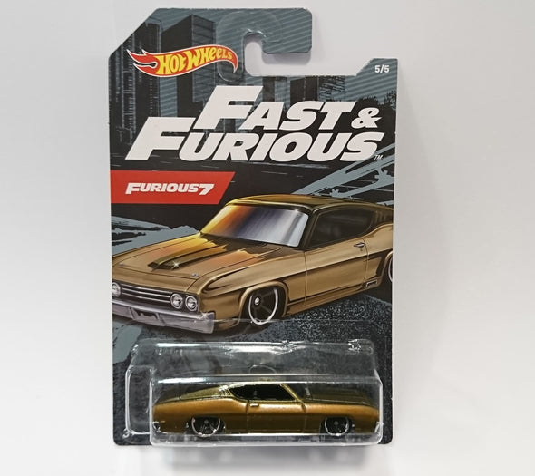Hot Wheels FAST AND FURIOUS 2020 SET - 69 Ford Torino Talladega