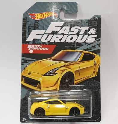 Hot Wheels FAST AND FURIOUS 2020 SET - Nissan 370Z