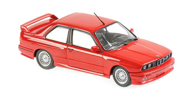 Minichamps - MAXICHAMPS 1/43 BMW M3 (E30) 1987 Red